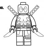 Marvel Coloring Pages for Kids Beautiful Fresh Design Lego Deadpool Coloring Pages How to Draw Marvel