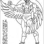 Marvel Coloring Pages New Elegant Avengers Falcon Coloring Pages Nocn