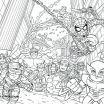Marvel Heroes Coloring Book Exclusive Luxury Lego Hero Factory Coloring Pages – Nicho