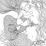 Mermaid Printables Coloring Inspirational Interesting Coloring Pages Mermaids Art Unique Printable Cds 0d