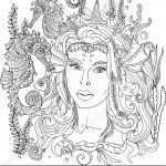 Mermaid Printables Coloring Pretty Beautiful Gonoodle Coloring Page 2019