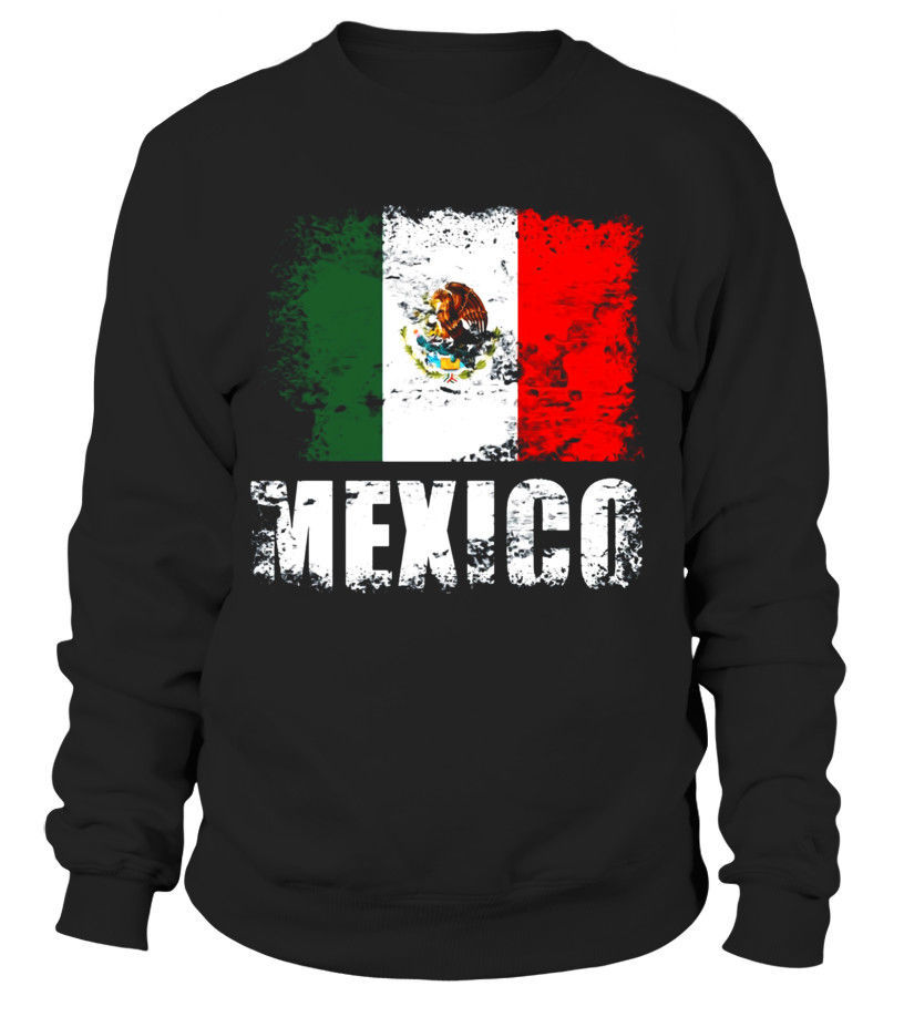 Mexico Flag T Shirt Mexican Tee Camiseta Sweatshirt