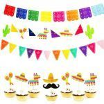 Mexican Flag for Kids Elegant Mexican Banner Garland Wedding Flag Banner Decorations for themed
