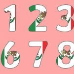 Mexican Flag for Kids Inspiration Mexico Flag Number Posters Mexico Mexican Flag Bulletin Board