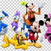 Mickey and Minnie Holding Hands Marvelous Mickey Mouse Minnie Mouse Pluto Daisy Duck Donald Duck Png Clipart