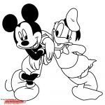 Mickey and Minnie Mouse Coloring Pages Awesome Elegant Mouse Cartoon Coloring Pages – thebookisonthetable