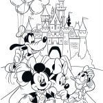 Mickey and Minnie Mouse Coloring Pages Fresh Inspirational Free Minnie Mouse Coloring Page 2019