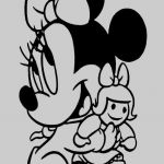Mickey Mouse Coloring Book Creative 12 Cute Minnie Mouse Coloring Page Kanta