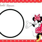 Mickey Mouse Print Out Fresh Minnie Mouse Name Tags Template