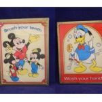Mickey Mouse Print Out Fresh Used Vintage Mickey Mouse & Donald Duck Bathroom Framed Artwork for