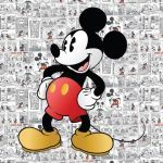 Mickey Mouse Print Out Inspirational Printed Vintage Mickey Mouse Birthday Party Backdrop Mickey Mouse
