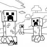 Minecraft Coloring Books Inspiration Minecraft Coloring Pages