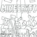 Minecraft Colouring Pages Inspired √ Zombies Coloring Pages or Minecraft Mutant Zombie Coloring Pages