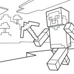 Minecraft Sword Print Amazing Minecraft Coloring Pages Free – Fatheredward