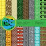 Minecraft Wrapping Paper Printable Brilliant 292 Best Minecraft Images In 2013