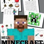 Minecraft Wrapping Paper Printable Creative Free Printable Minecraft Free Printable Valentines Day Gift Tags