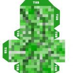 Minecraft Wrapping Paper Printable Elegant Minecraft Printables Creeper Minecraft Creeper Free