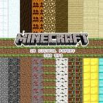 Minecraft Wrapping Paper Printable Exclusive 14 Best Party Printables Images