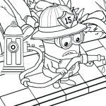 Minion Coloring Book Inspirational Minions Halloween Coloring Pages – 123bakingub