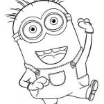 Minion Coloring Pages Free Elegant Free Minion Coloring Pages Best while You Wait for the Up Ing