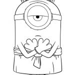 Minion Coloring Pages Free Excellent Enjoy with This Free Minions Movie Coloring Page In This Picture