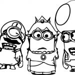Minion Coloring Pages Free Wonderful Despicable Me Coloring Pages