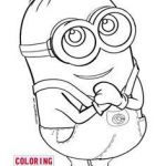 Minion Coloring Pages Pdf Inspirational 96 Best Disney S Minions Coloring Sheets Images In 2019