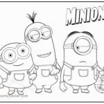 Minion Coloring Sheets Best Minion Coloring Pages New Free Minion Coloring Pages Awesome 0d