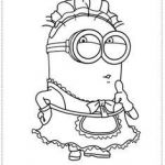 Minion Pictures to Colour Awesome 9 Best Minion Coloring Pages Images