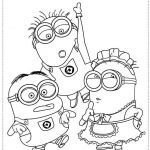 Minion Pictures to Colour Elegant Minions Coloring Page Fvgiment