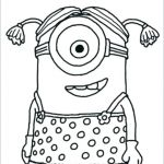 Minion Pictures to Colour Inspiring Cartoon Drawing Minion