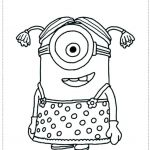 Minion Printable Coloring Pages Beautiful How to Draw Agnes From Despicable Me Step by Step Beautiful