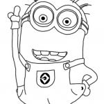 Minion Printable Coloring Pages Brilliant Cute Despicable Me Minion Coloring Pages Coloring Pages