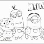 Minions Color Sheet Inspired 11 Inspirational Minion Color Pages