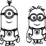 Minions Color Sheets Inspiration Despicable Me Coloring Sheets