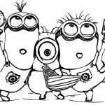 Minions Color Sheets Inspired Despicable Me Coloring Pages Inspirational Minion Easter Coloring