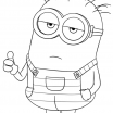 Minions Coloring Pages to Print Creative Coloring Books 31 Incredible Minion to Colour Minion