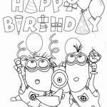 Minions Pictures to Print Creative Minion Coloring Pages New Free Minion Coloring Pages Awesome 0d