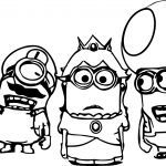 Minions Pictures to Print Inspiration Despicable Me Coloring Pages