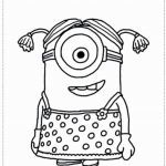 Minions Pictures to Print Marvelous Minion Coloring Pages New Free Minion Coloring Pages Awesome 0d