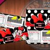Minnie Mouse Cowgirl Awesome Minnie Mouse Printable Candy Bar Wrappers Black and White