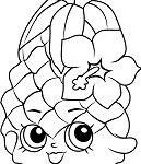 Miss Mushy Moo Shopkins Awesome Di Mond Ring Shopkin Season 7 Coloring Page Free Coloring Pages Line