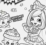 Miss Mushy Moo Shopkins Creative Di Mond Ring Shopkin Season 7 Coloring Page Free Coloring Pages Line
