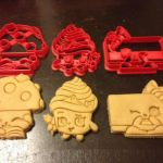 Miss Mushy Moo Shopkins Excellent Shopkins Cookie Cutters Miss Mushy Moo Cupcake Queen Cheese