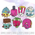 Miss Mushy Moo Shopkins Inspiration 35 Best Shopkins Svg Images