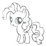 Mlp Coloring Books Beautiful My Little Pony Coloring Game Great Pie Page Pinkie New Pin Template