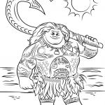Moana Adult Coloring Book Awesome Moana Coloring Pages