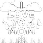 Mom Coloring Pages to Print Beautiful Coloring Happy Birthday Coloringages torint Mom Freerintable