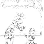 Mom Coloring Pages to Print Best Free Printable Mother S Day Coloring Pages