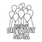 Mom Coloring Pages to Print Marvelous Print A Happy Birthday Card – Kryptoskolenfo